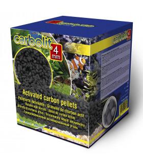 Наполнитель уголь Carbolit 4мм 5л/3кг для морских и пресноводных аквариумов в коробке