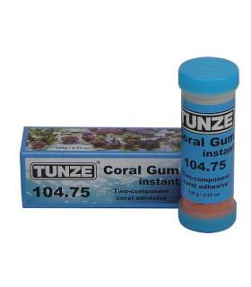 Двухкомпонентный клей для фиксации камней и кораллов TUNZE Coral Gum instant 104.75, 120г