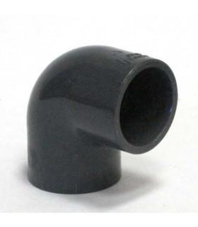 Угольник 90 градусов ПВХ, 25 мм