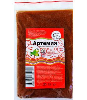 Науплии Артемии, мороженые, фасованные, 50г.