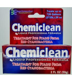 Препарат Chemi Clean Liquid  для борьбы с красными, черными и сине-зелёными водорослями 60мл, до 272