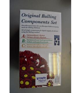 Комплект добавок Bio-Calcium Original Balling включает части A, B, C, 3x1кг