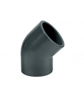 Угольник 45 градусов ПВХ, 32 мм